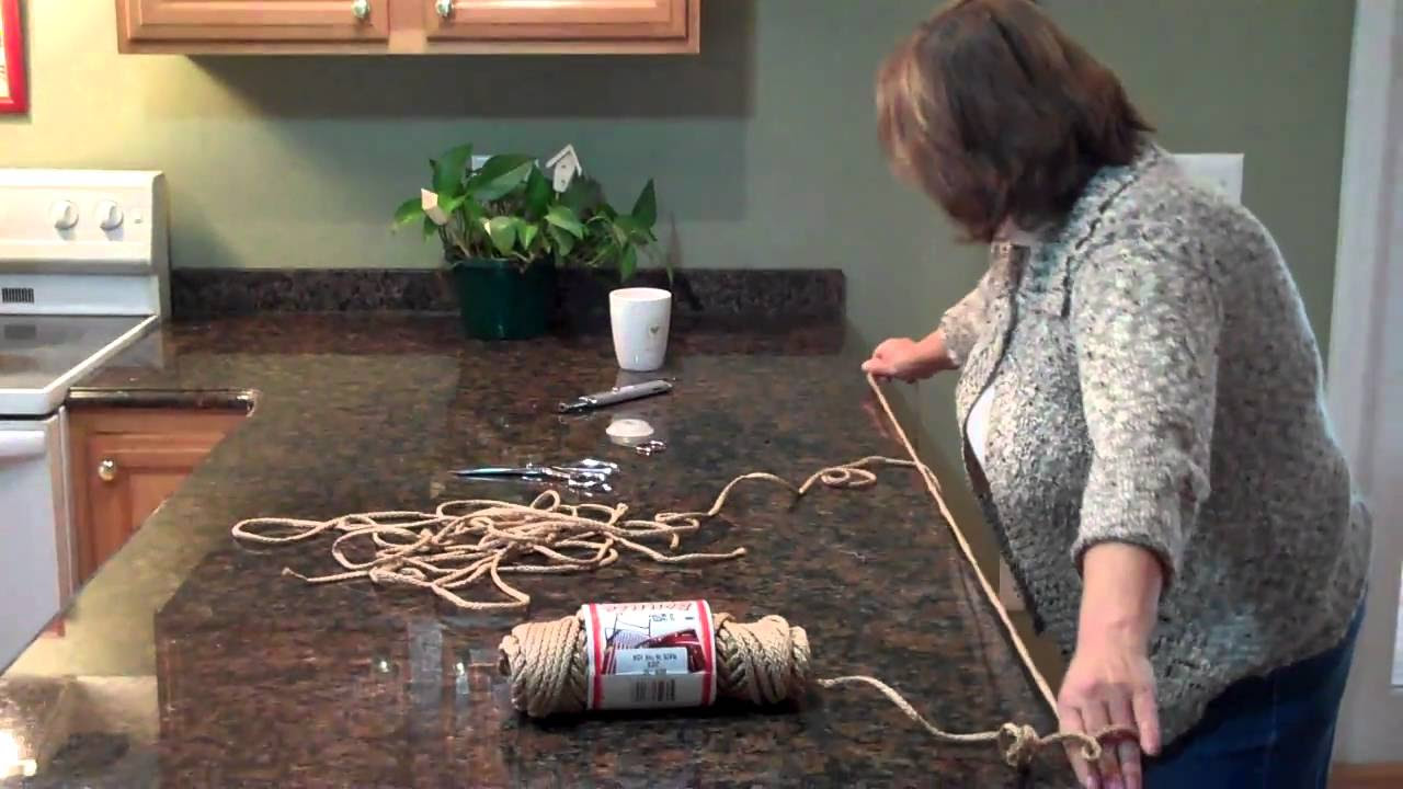 Free 10 knot Macrame Plant Hanger Project Instructions ...