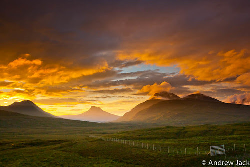 Stac Pollaidh Sunset by OnlyEverOneJack