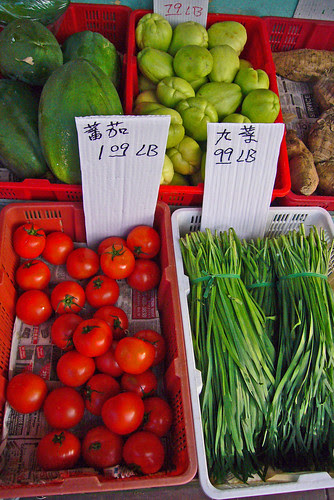 Chinatown Fruit & Vegetables by Old Jingleballicks