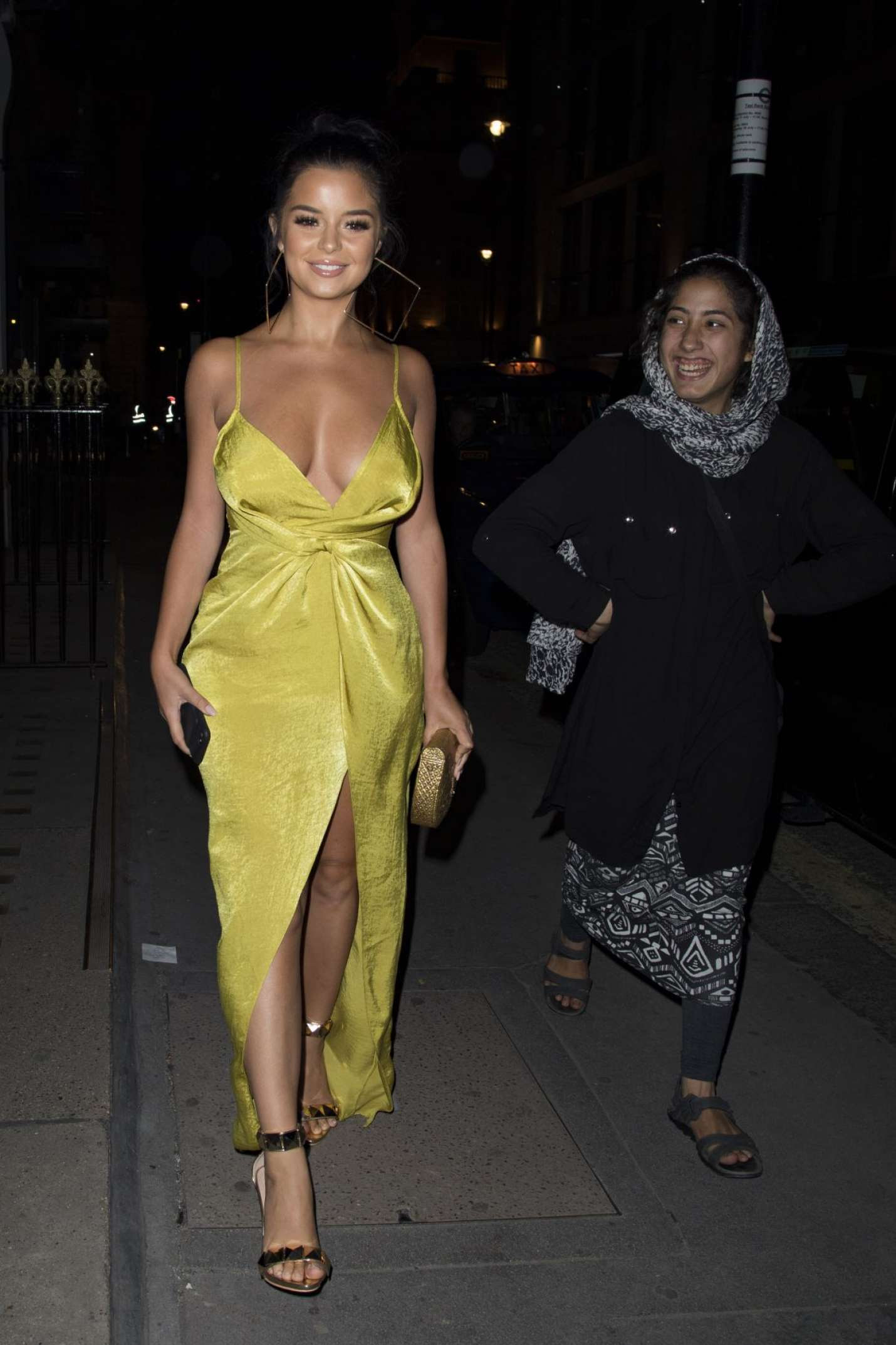 Demi Rose At Monkey House Bar In London  Indian Girls