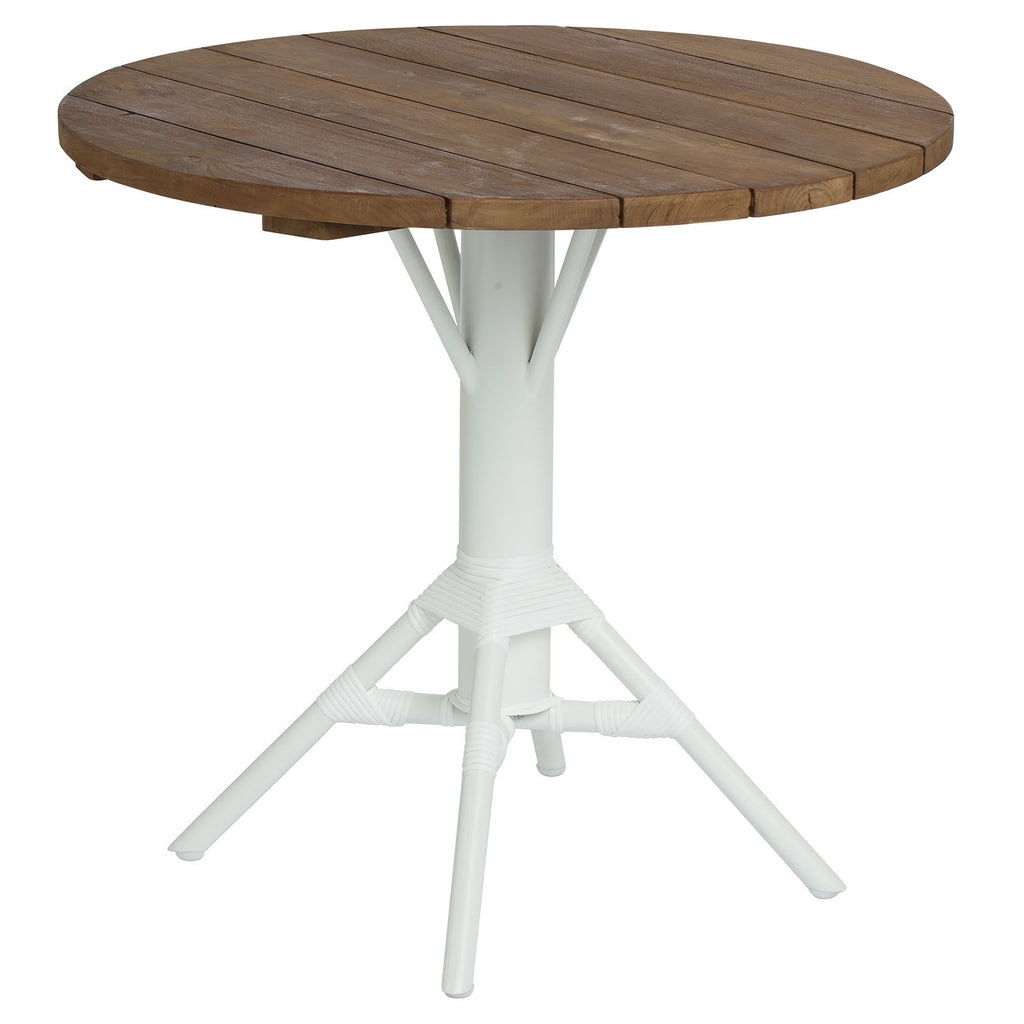 "Sika Design 31.5"" Nicole Bistro Table with Teak Table Top ..."