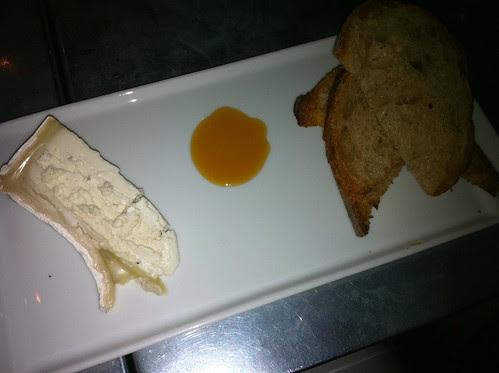 Truffled Goat Cheese with Chestnut Honey
