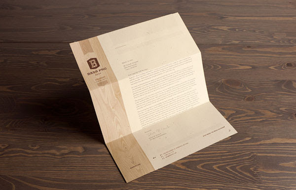 Bass Pro Shop Stationery Design by Fred Carriedo