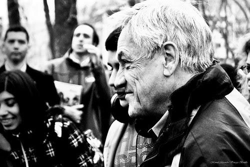 Sebastián Piñera, presidente de la república, Santiago de Chile. by Alejandro Bonilla