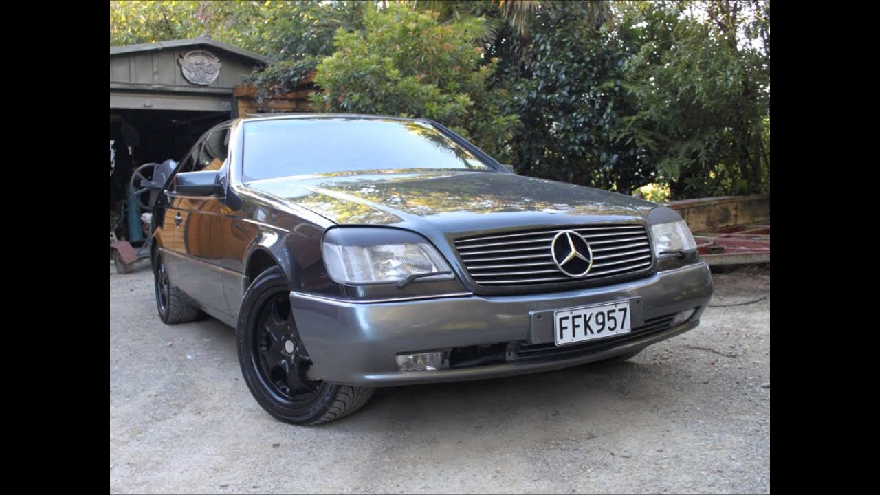 1995 Mercedes Benz S600 Coupe V12 - YouTube