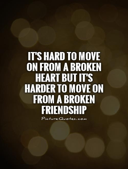20 Sad And Broken Friendship Quotes