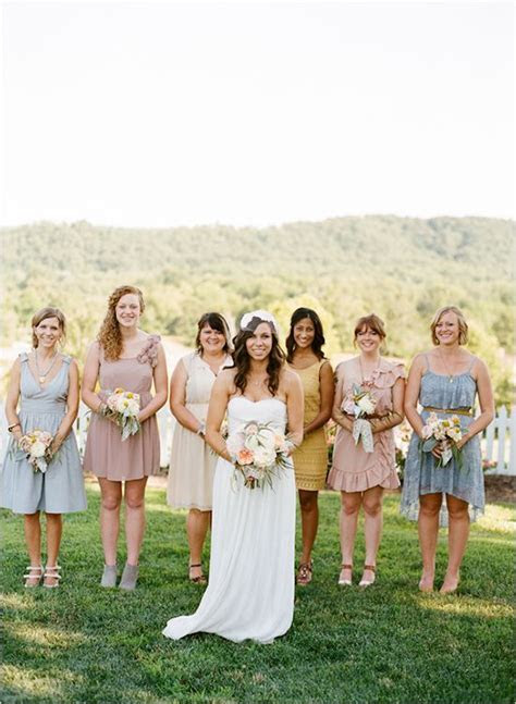 Relaxed Outdoor Nashville Wedding   Dresses.. flowers and
