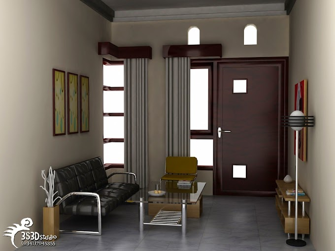 Contoh Penyekat Ruang Tamu | Ide Rumah Minimalis