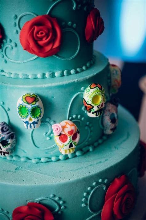856 best Day of the Dead Wedding cakes and more images on
