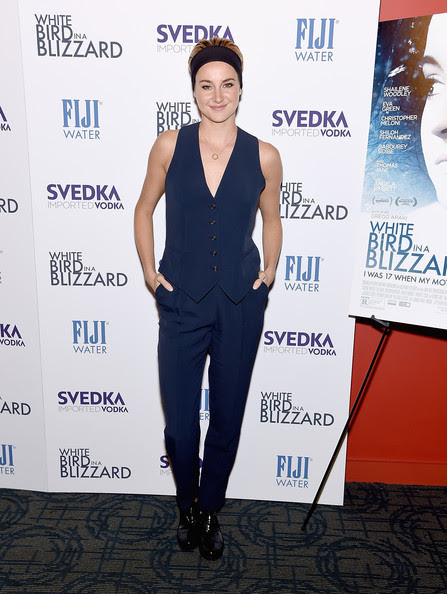 Shailene Woodley - 'White Bird in a Blizzard' Screening in NYC