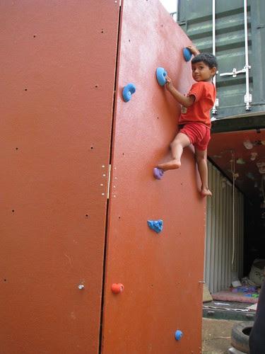 Mobile Climbing Wall 2