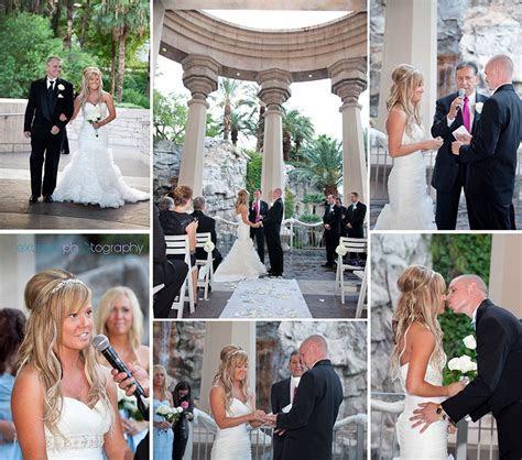 Las Vegas Wedding Photos, Mandalay Bay, valley of Falls