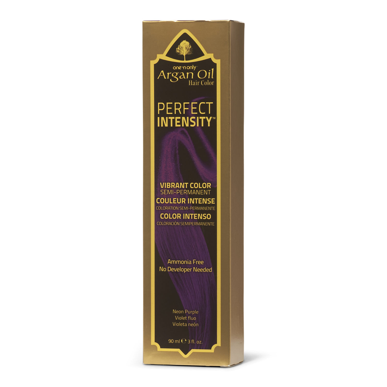 One 'n Only Perfect Intensity Argan Oil Hair Color Neon Purple