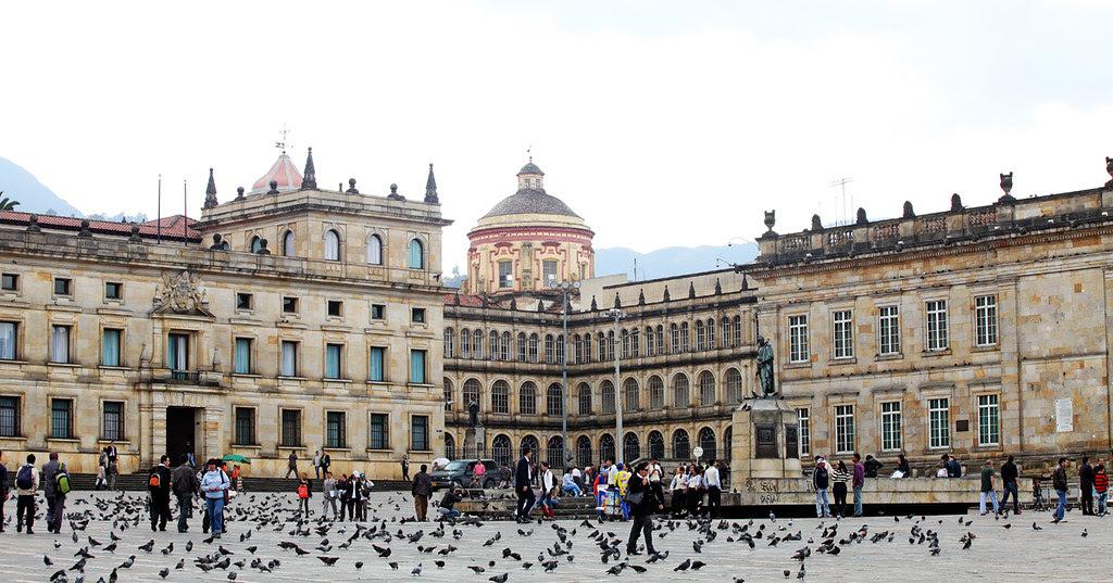 Plaza de Bolívar - Capitolio Nacional