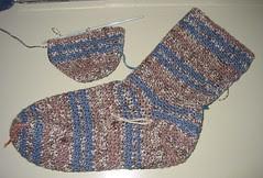 Crochet Socks WIP