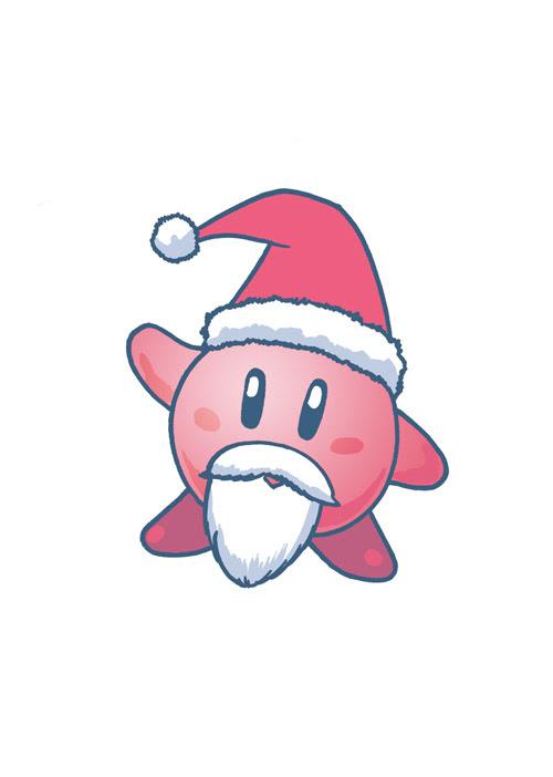 12 - Kirby Santa 2