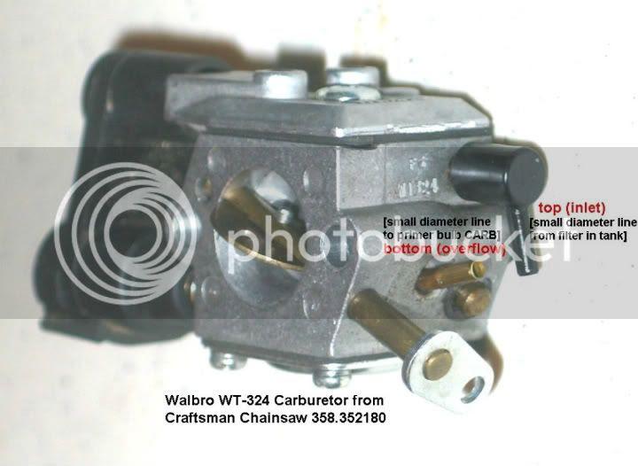 Wiring Diagram Database: Craftsman Chainsaw Fuel Line Diagram