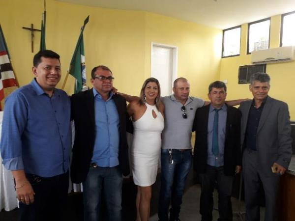 Toma posse novo presidente da Câmara Municipal de Barão de Grajaú.(Imagem:Assessoria)