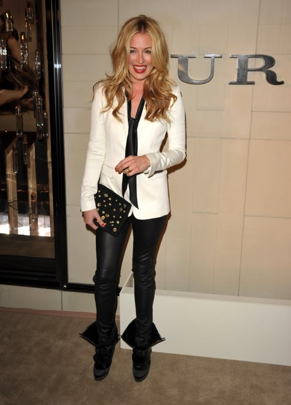9c Cat Deeley at the Burberry Body event in LA