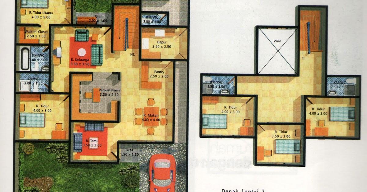 Sketsa Rumah Type 21/60 - Ceria kr