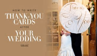 How to Write Wedding Thank You Cards to Your Guests