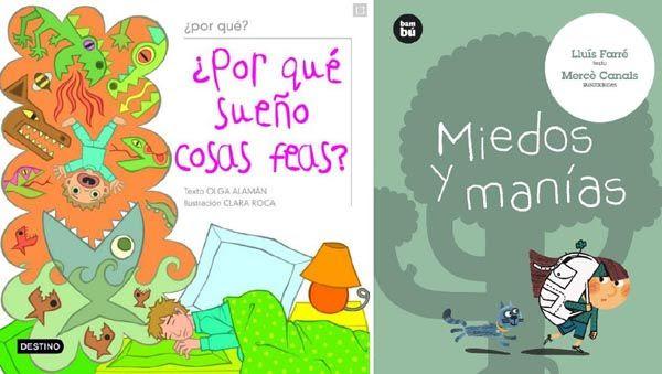 Libros sobre miedos para niños