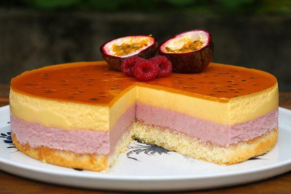 Entremets exotique (sans gluten)   Recette   Gâteaux et