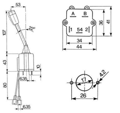 Blinkrelais Traktor Schaltplan