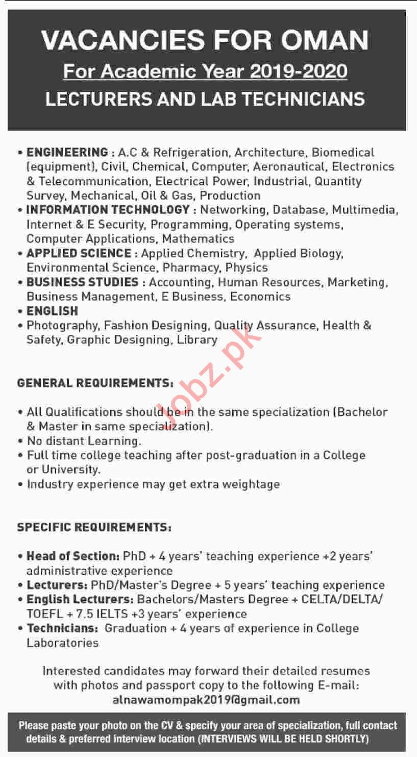 Fashion Designing Teaching Jobs In Punjab School Style