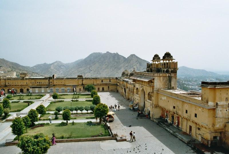 Fort von Amber nahe Jaipur, Indien