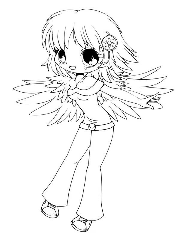 15 Cute Chibi Coloring Pages Printable Print Color Craft Afvere