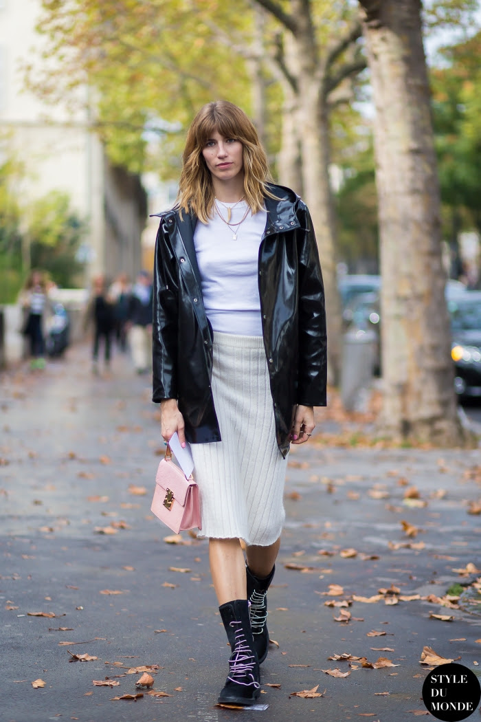 Veronika Heilbrunner Street Style Street Fashion Streetsnaps by STYLEDUMONDE Street Style Fashion Blog