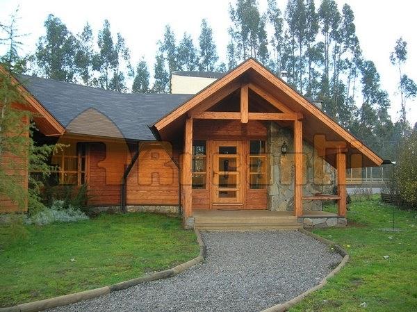 Casas de madera prefabricadas casas prefabricada en temuco - Casas prefabricada de madera ...