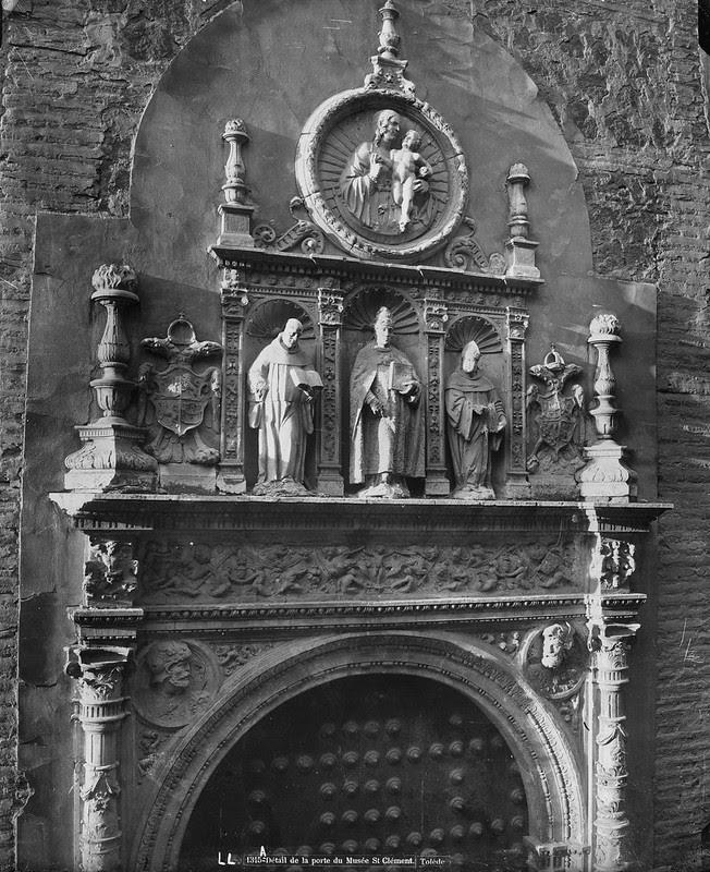Portada del Convento de San Clemente hacia 1875-80. © Léon et Lévy / Roger-Viollet