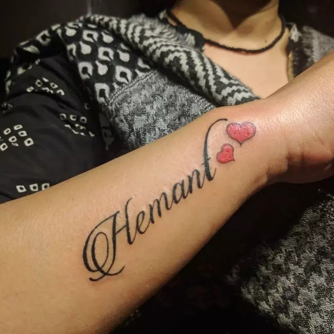80 Memorable Name Tattoos