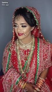 43+ Charming Style Wedding Hairstyle Dupatta