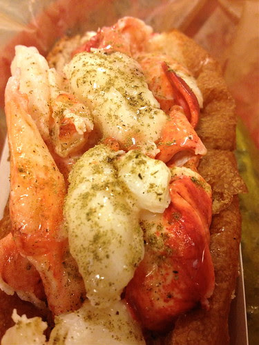 Lobster Roll in Fall