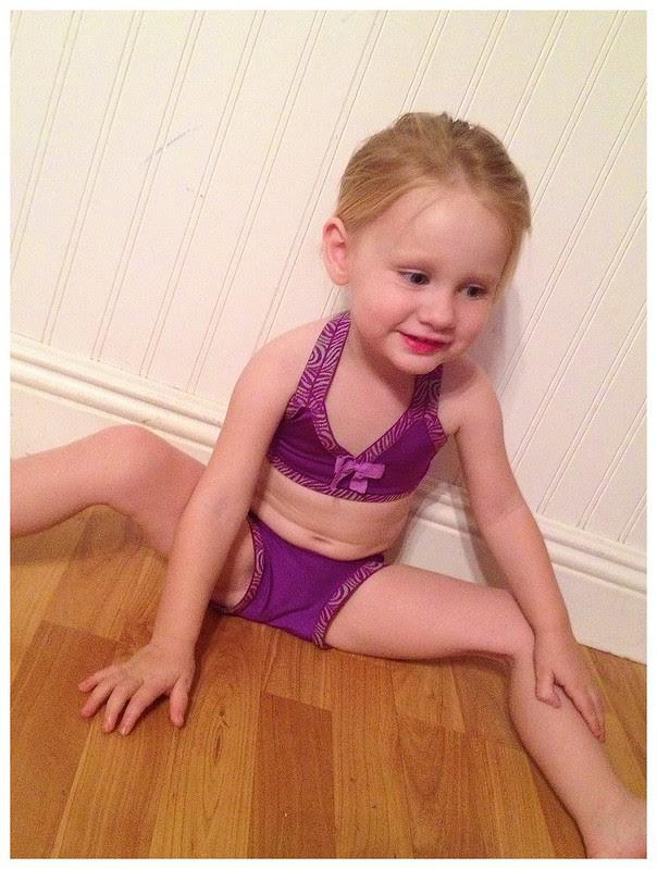 Presley in her Bathing Suit 1
