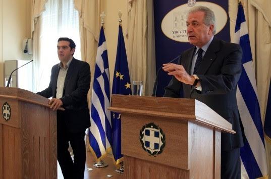 Ο Α. Τσίπρας ανακοινώνει τον υποψήφιο Πρόεδρο της Δημοκρατίας