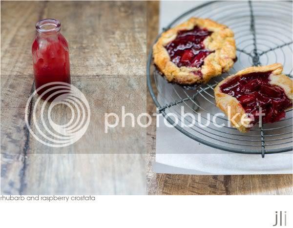 rhubarb and raspberry crostata,sour cream pastry,jillian leiboff imaging,sydney,food photography