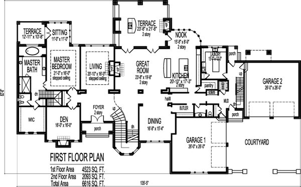Home Architec Ideas Dream House Home Design Drawing