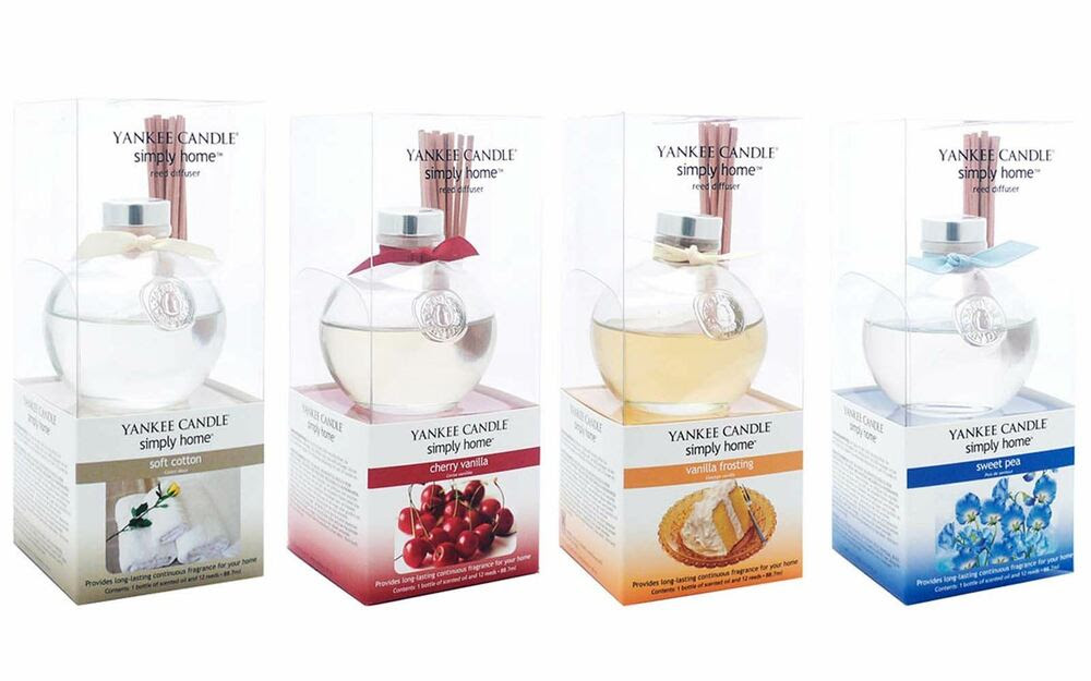 Yankee Candle Simply Home Reed Diffuser - Sweet Pea ...
