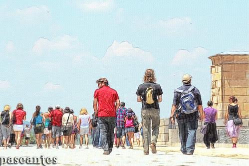 paseantes