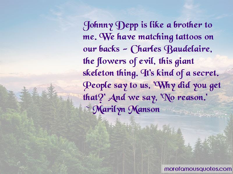 Quotes About Tattoos Johnny Depp Top 1 Tattoos Johnny Depp Quotes