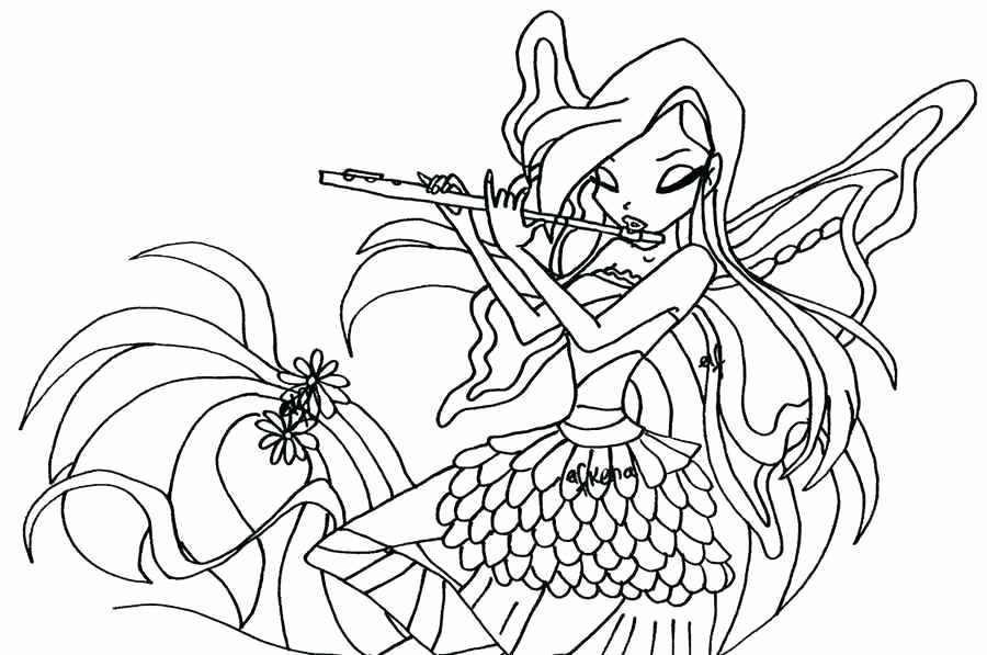 Winx Club Bloomix Coloring Pages At Getdrawingscom Free For