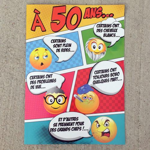 Message Anniversaire 50 Ans Femme