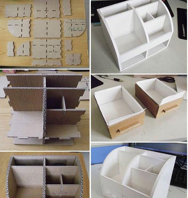 12+ Kerajinan Tangan Membuat Tempat Pensil Dari Kardus ...