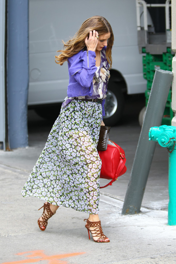 Olivia Palermo - Olivia Palermo Wears a Spring Ensemble in NYC