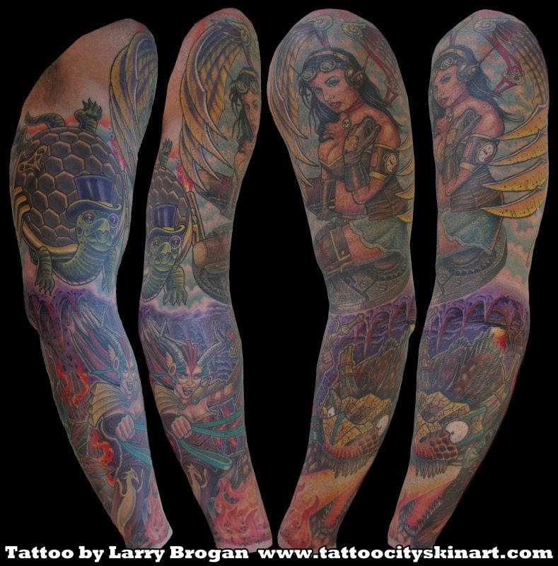 Paradise Tattoo Gathering Tattoos Wings Steam Punk Heaven