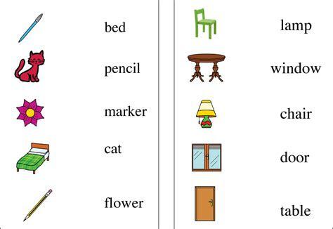 vocabulario en ingles  educacion infantil